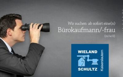 Bürokaufmann/frau (m/w/d) gesucht!